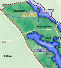 Föreningskonferens: Bergshamra i Kungliga Nationalstadsparken