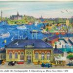 Tavla av Mona Huss-Wallin med Tullhuset