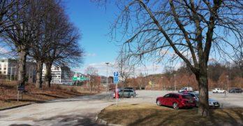 Här bakom Annelund i Hagaparken vill den moderatledda majoriteten i Solna bygga 25000 kvm kontor